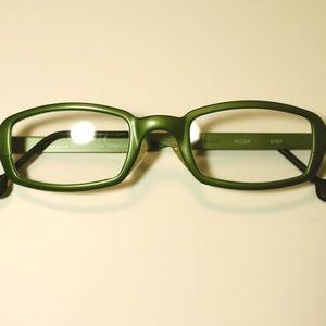 la eyeworks new vintage eyeglasses, mens, titanium